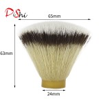 Dishi flat shape syntehtic hair knot