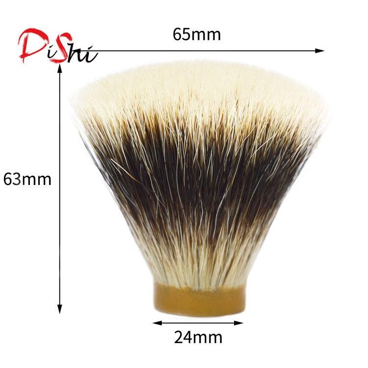 Flat top bager hair shaving knot