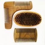 Dishi beard kit 3 pcs beard brush and two comb