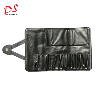 12PCS BLACK MAKEUP BRUSH BAG