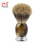 Dishi metal with resin handle shaving brush