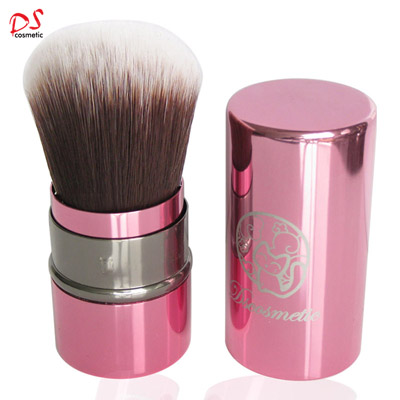 RETRACTABLE BRUSH POWDER PINK