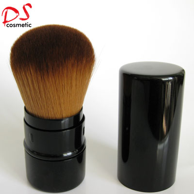 RETRACTABLE Black round powder  BRUSH