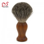 Sandalwood handle shaving brush