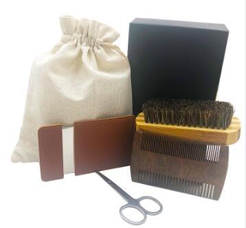 Dishi beard kit with mirrow