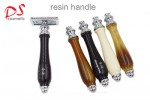2017new Resin handle double edage safely razor