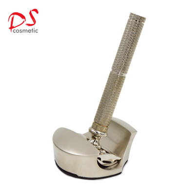 2017 NEW GOLDEN HANDLE DOUBLE EDAGE SAFELY RAZOR WITH HOLD