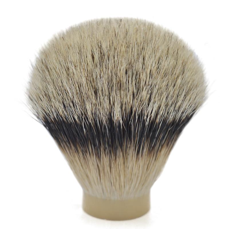 High mountain badger hair knot