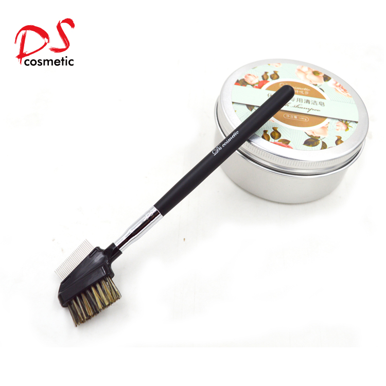 Eye brown metal comb brush