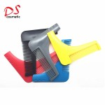 Plastic Handle Material and Home Use beard comb