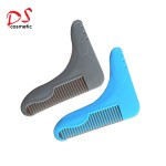 Beard comb Type and Plastic Tooth Material beard shaping template
