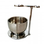 Dishi shaving stand with bowl