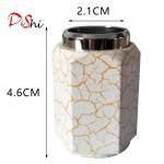 Dishi marble style metal handle