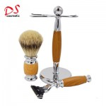 YELLOW 3 BLADE SHAVING KIT